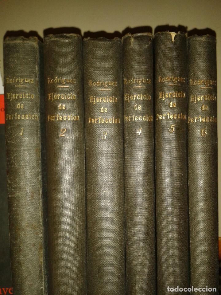 Libros antiguos: EJERCICIO DE PERFECCIÓN Y VIRTUDES CRISTIANAS. ALONSO RODRIGUEZ . 1918. SEIS TOMOS - Foto 2 - 84586612
