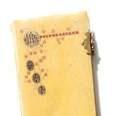 Libros antiguos: MISAL AÑO 1900 OFICIO DOMINGO Y PARA LAS PRINCIPALES FESTIVIDADES DEL AÑO - ILUSTRACIONES DORADAS. Lote 84589700