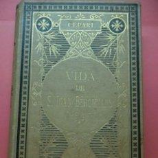 Libros antiguos: VIDA DE S. JUAN BERCHMANS - CEPARI - 1888 - CORREGIDA Y AUMENTADA P. JOSE BOERO. Lote 85118132
