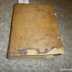 Libros antiguos: AÑO CHRISTIANO O EXERCICIOS DEVOTOS - MES AGOSTO JUAN CROISSET PERGAMINO RESTAURADO APROX. 1772. Lote 85401736