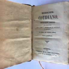 Alte Bücher - Ejercicio Cotidiano Devocionario Completo (finales Siglo XIX) - 85832287