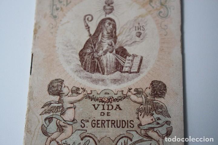 Libros antiguos: FLORES CELESTES, VIDA DE STA. GERTRUDIS (S. CALLEJA - MADRID) 1898 - Foto 2 - 86169960
