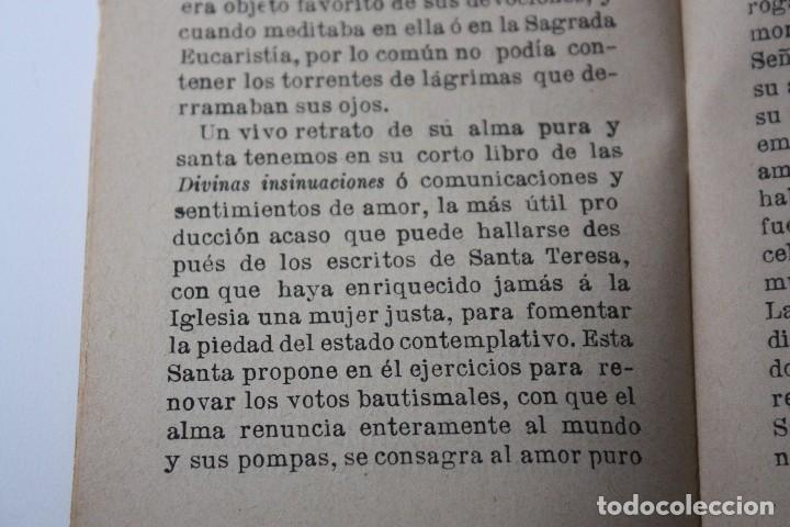 Libros antiguos: FLORES CELESTES, VIDA DE STA. GERTRUDIS (S. CALLEJA - MADRID) 1898 - Foto 8 - 86169960
