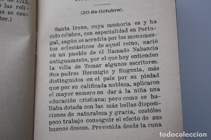 Libros antiguos: FLORES CELESTES, VIDA DE STA. GERTRUDIS (S. CALLEJA - MADRID) 1898 - Foto 10 - 86169960