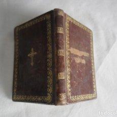 Libros antiguos: EL CAMINO DE LA VIRTUD - AÑO 1855 - PAMPLONA - IMPRENTA DE GARCIA - ENCUADERNACIÓN EN PIÉL Y ORO. Lote 86503600