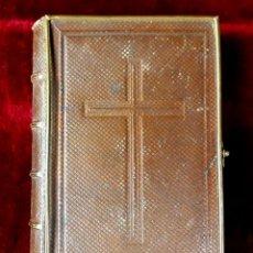 Libros antiguos: DEVOCIONARIO EL RAMILLETE DE LA MUJER CRISTIANA. JOSÉ PALAU. LIBRERÍA DE MAYOL. 1862.. Lote 86616240