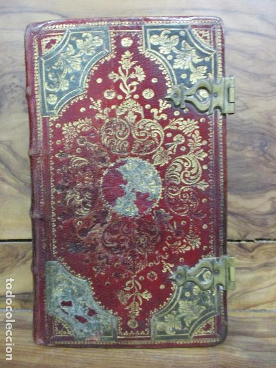 Libros antiguos: OFICIO DE LA SEMANA SANTA SEGUN EL MISSAL Y BREVIARIO ROMANOS. C. 1740. INCOMPLETO. - Foto 2 - 87218864