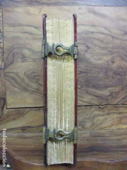 Libros antiguos: OFICIO DE LA SEMANA SANTA SEGUN EL MISSAL Y BREVIARIO ROMANOS. C. 1740. INCOMPLETO. - Foto 3 - 87218864