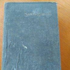 Alte Bücher - LA SANTA BIBLIA CONTIENE LOS SAGRADOS LIBROS DEL ANTIGUO Y NUEVO TESTAMENTO CIPRIANO VALERA, 1917 - 87246975