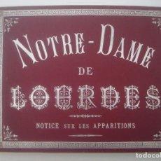 Libros antiguos: ALBUM DE NOTRE DAME DE LOURDES. GRAN FOLIO. 1880. MULTITUD DE GRABADOS. . Lote 87538708