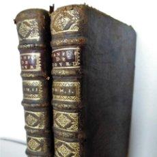 Libros antiguos: AÑO 1712: SERMONS DU PERE BOURDALOUE, DE LA COMPAÑÍA DE JESÚS EN DOS TOMOS - LIBRO SIGLO XVIII. Lote 87613664