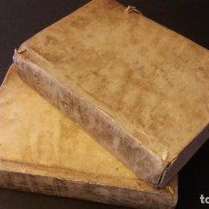 Libros antiguos: 1764 - MELCHIORIS CANI (MELCHOR CANO) - OPERA - 2 TOMOS, COMPLETA. Lote 175128065