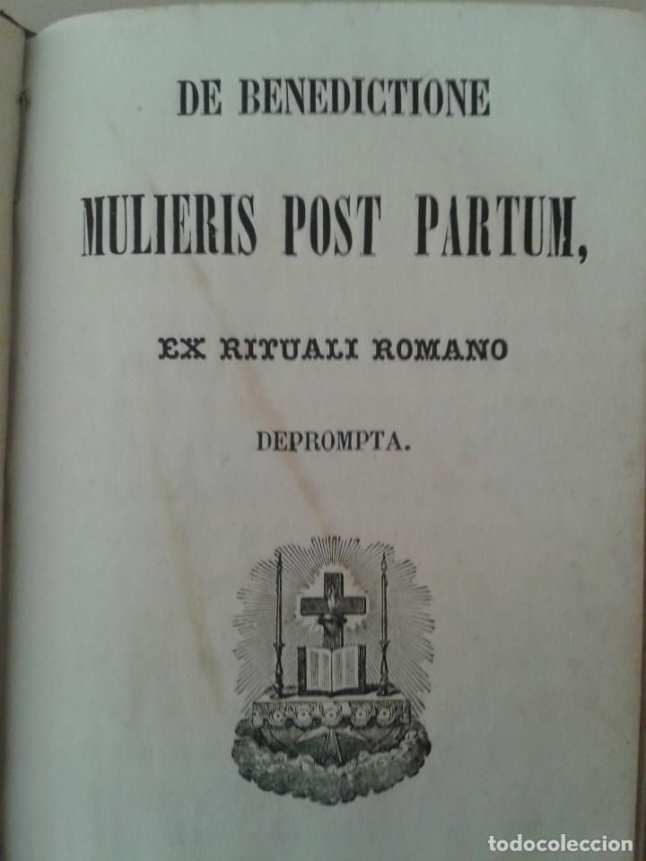 Libros antiguos: MANUAL DE SACRAMENTOS. 1864 - Foto 5 - 88964896