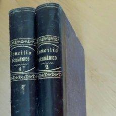 Libros antiguos: EL SANTO CONCILIO ECUMÉNICO DEL VATICANO. MORENO CEBADA E.. Lote 89037500