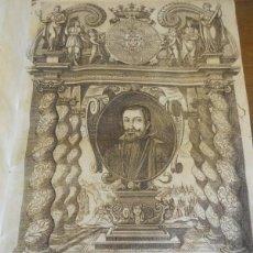 Libros antiguos: ANTONIO PÉREZ: AUTHENTICA FIDES MATTAHEI. BARCELONA 1632. GRABADO CONDE DUQUE OLIVARES. Lote 89495028
