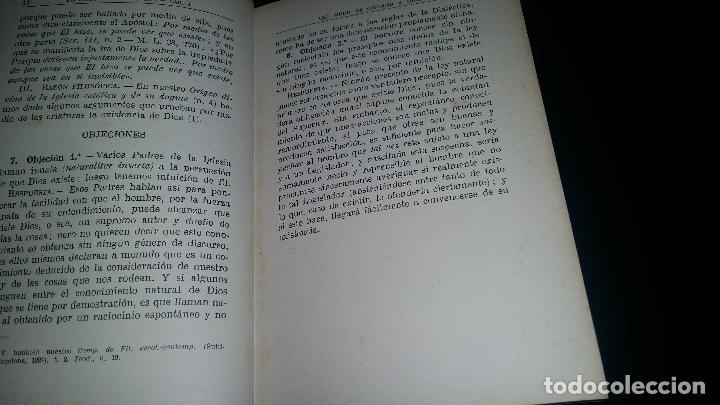 Libros antiguos: el dogma catolico acerca de dios y sus tres personas / 2º curso de religion / francisco marxuach - Foto 3 - 90357996