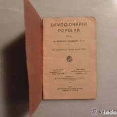 Libros antiguos: ANTIGUO DEVOCIONARIO POPULAR AÑO 1932. Lote 90431039