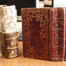 Libros antiguos: OFICIO DE LA SEMANA SANTA SEGUN EL MISAL Y BREVIARIOS ROMANOS. 1769. ENCUADERNACIÓN S. XVIII.. Lote 90436154