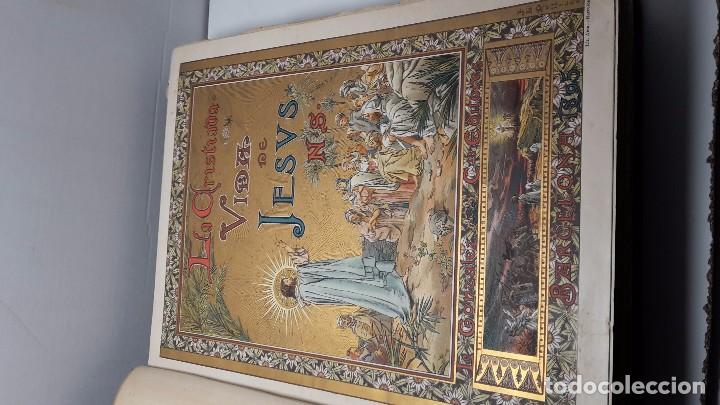Libros antiguos: LA CRISTIADA VIDA DE JESUS NUESTRO SEÑOR - Foto 4 - 90569440