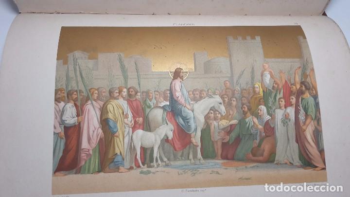 Libros antiguos: LA CRISTIADA VIDA DE JESUS NUESTRO SEÑOR - Foto 10 - 90569440
