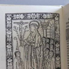 Libros antiguos: FACSIMIL N.13 DE 3000. LA VIDA DE SANCTA CATHERINA DE SENA (SANTA CATALINA)1499. VI. Lote 133226347