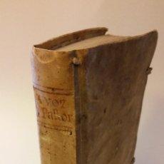 Alte Bücher - 1773 - SEÑOR REGUIS - LA VOZ DEL PASTOR, DISCURSOS FAMILIARES - 90884825