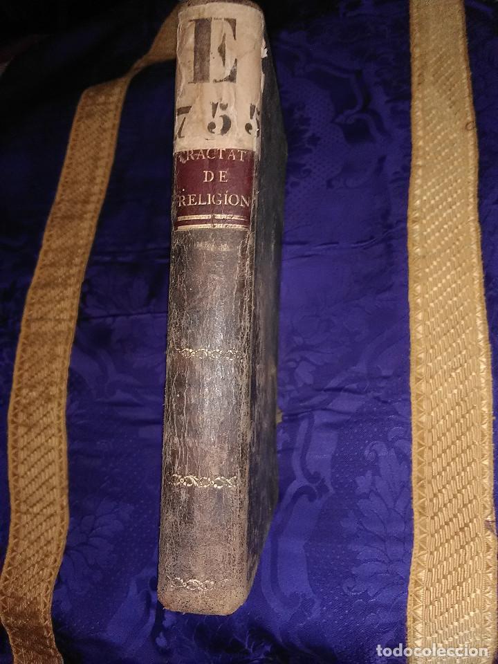 (EN LATÍN). TRACTATUS DE VERA RELIGIONE. J. RIUS (FRANCISCANO). MADRID, 1827. (Libros Antiguos, Raros y Curiosos - Religión)