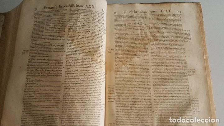 Libros antiguos: Liber sextus Decretalium D. Bonifacij Papae VIII -1613 - Foto 8 - 91026505