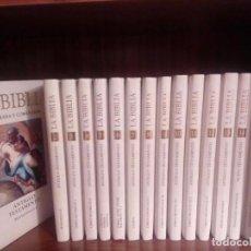 Libros antiguos: BIBLIA ILUSTRADA Y COMENTADA. Lote 91813995