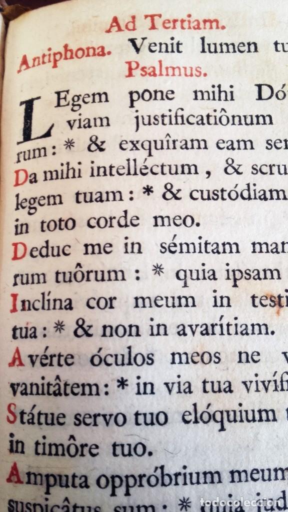 Libros antiguos: 1790. OFFICIUM IN EPIPHANIA DOMINI ET PER TOTAM OCTAVAM. MATRITI. MARIN. - Foto 3 - 92096685
