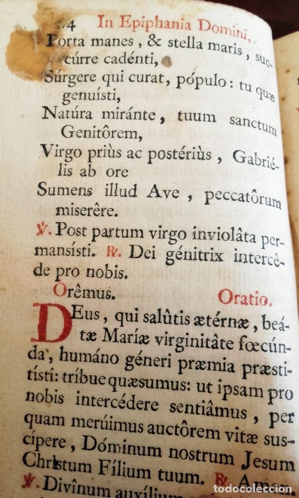 Libros antiguos: 1790. OFFICIUM IN EPIPHANIA DOMINI ET PER TOTAM OCTAVAM. MATRITI. MARIN. - Foto 4 - 92096685