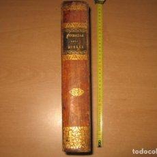 Libros antiguos: VINDICIAS DE LA SAGRADA BIBLIA , ANOTADA POR JOSE PALAE AÑO 1845. Lote 92174425