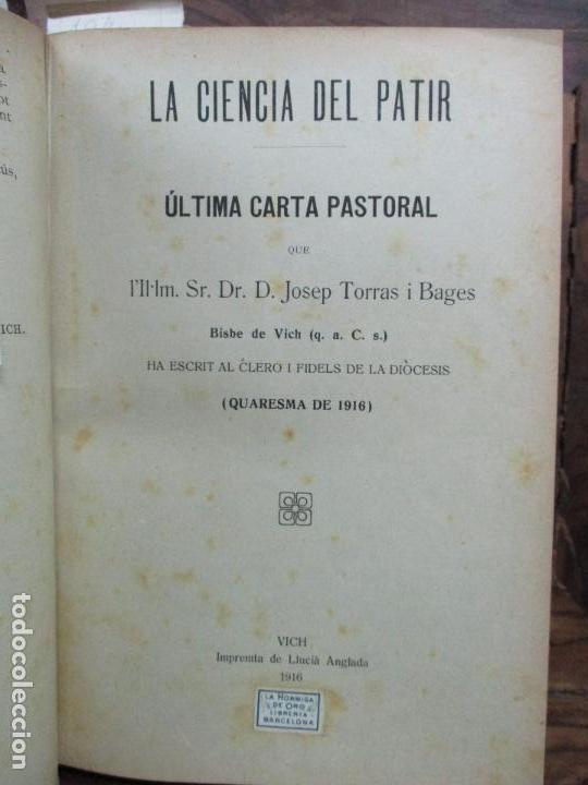 Libros antiguos: PASTORALES DEL DR. TORRAS Y BAGES Y OTROS OBISPOS, DISCURSOS, SERMONES...S. XIX-p. S. XX. - Foto 3 - 92695855