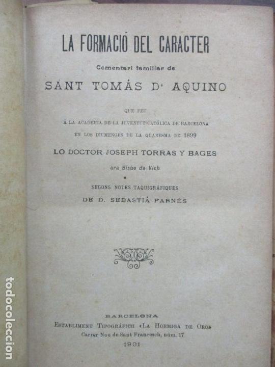 Libros antiguos: PASTORALES DEL DR. TORRAS Y BAGES Y OTROS OBISPOS, DISCURSOS, SERMONES...S. XIX-p. S. XX. - Foto 5 - 92695855