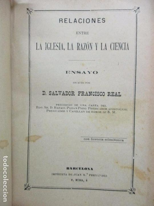 Libros antiguos: PASTORALES DEL DR. TORRAS Y BAGES Y OTROS OBISPOS, DISCURSOS, SERMONES...S. XIX-p. S. XX. - Foto 7 - 92695855