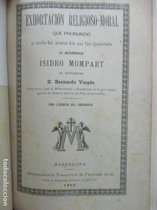 Libros antiguos: PASTORALES DEL DR. TORRAS Y BAGES Y OTROS OBISPOS, DISCURSOS, SERMONES...S. XIX-p. S. XX. - Foto 8 - 92695855
