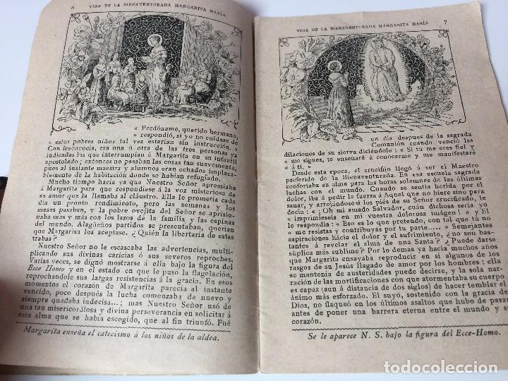 Libros antiguos: VIDA DE LA BIENAVENTURADA MARGARITA MARIA (SEGUNDO CENTENARIO DE SU MUERTE) C.PAILLART (1890) - Foto 8 - 92809975