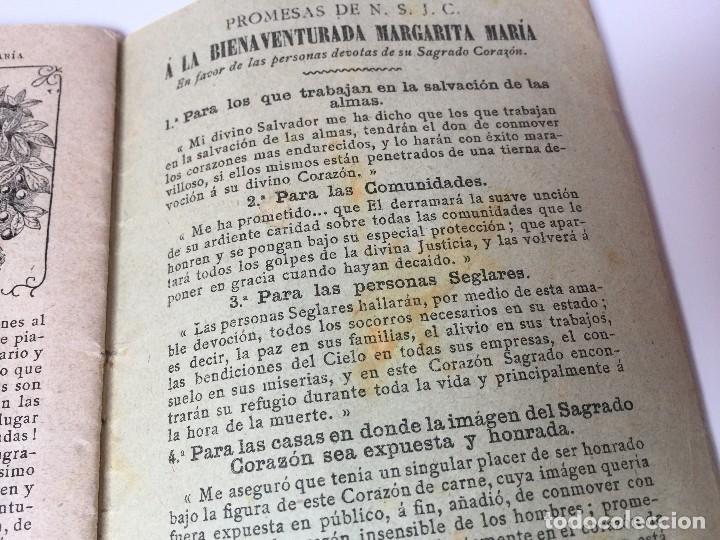 Libros antiguos: VIDA DE LA BIENAVENTURADA MARGARITA MARIA (SEGUNDO CENTENARIO DE SU MUERTE) C.PAILLART (1890) - Foto 9 - 92809975