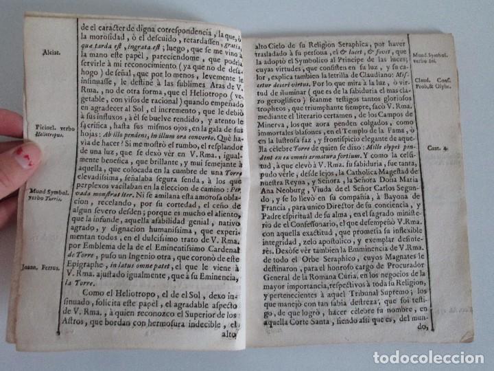Libros antiguos: DECLAMACION TRAGICO FESTIVA ORACION HISTORICO PANEGYRICO MORAL. JUAN FRANCISCO GUASQUE. VER FOTOS - Foto 5 - 93117165