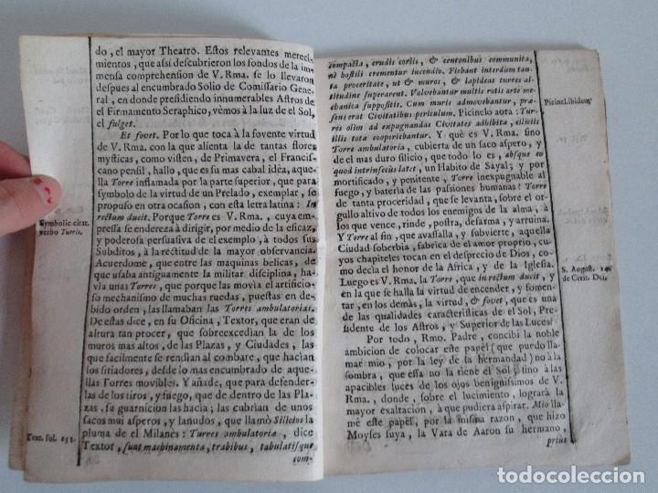 Libros antiguos: DECLAMACION TRAGICO FESTIVA ORACION HISTORICO PANEGYRICO MORAL. JUAN FRANCISCO GUASQUE. VER FOTOS - Foto 6 - 93117165