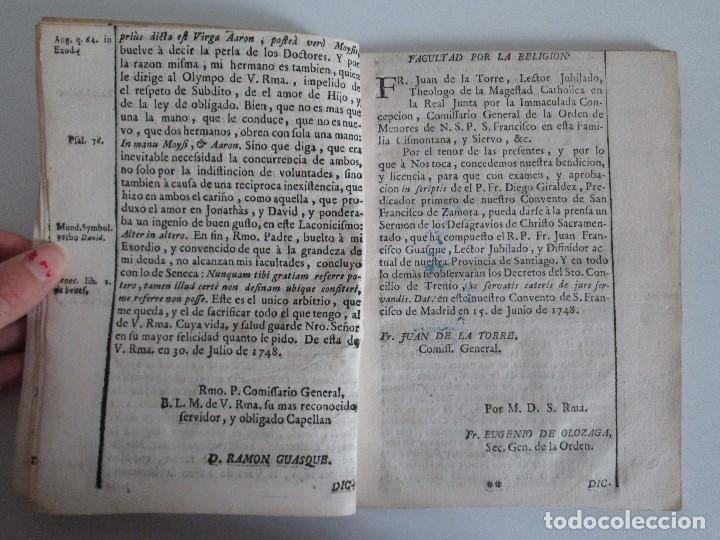 Libros antiguos: DECLAMACION TRAGICO FESTIVA ORACION HISTORICO PANEGYRICO MORAL. JUAN FRANCISCO GUASQUE. VER FOTOS - Foto 7 - 93117165