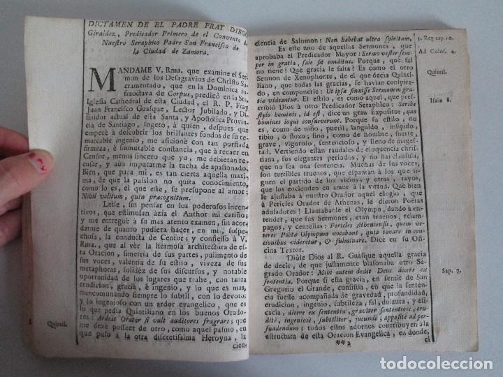 Libros antiguos: DECLAMACION TRAGICO FESTIVA ORACION HISTORICO PANEGYRICO MORAL. JUAN FRANCISCO GUASQUE. VER FOTOS - Foto 8 - 93117165