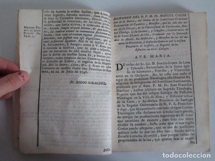 Libros antiguos: DECLAMACION TRAGICO FESTIVA ORACION HISTORICO PANEGYRICO MORAL. JUAN FRANCISCO GUASQUE. VER FOTOS - Foto 10 - 93117165