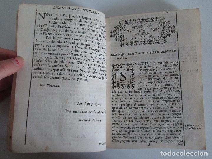 Libros antiguos: DECLAMACION TRAGICO FESTIVA ORACION HISTORICO PANEGYRICO MORAL. JUAN FRANCISCO GUASQUE. VER FOTOS - Foto 12 - 93117165