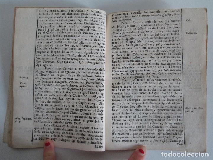 Libros antiguos: DECLAMACION TRAGICO FESTIVA ORACION HISTORICO PANEGYRICO MORAL. JUAN FRANCISCO GUASQUE. VER FOTOS - Foto 15 - 93117165