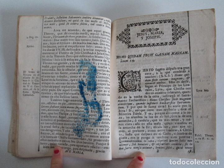 Libros antiguos: DECLAMACION TRAGICO FESTIVA ORACION HISTORICO PANEGYRICO MORAL. JUAN FRANCISCO GUASQUE. VER FOTOS - Foto 16 - 93117165