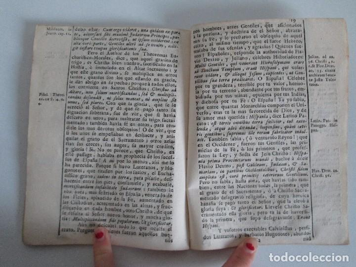 Libros antiguos: DECLAMACION TRAGICO FESTIVA ORACION HISTORICO PANEGYRICO MORAL. JUAN FRANCISCO GUASQUE. VER FOTOS - Foto 21 - 93117165