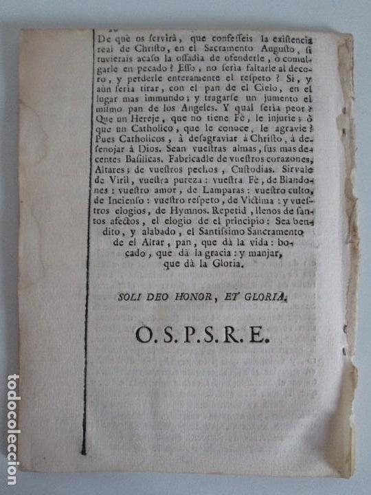 Libros antiguos: DECLAMACION TRAGICO FESTIVA ORACION HISTORICO PANEGYRICO MORAL. JUAN FRANCISCO GUASQUE. VER FOTOS - Foto 25 - 93117165