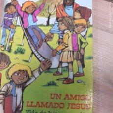 Libros antiguos: LIBRO UN AMIGO LLAMADO JESÚS DE SANTOS BENETTI. EDITORIAL SAN PABLO. . Lote 93300790