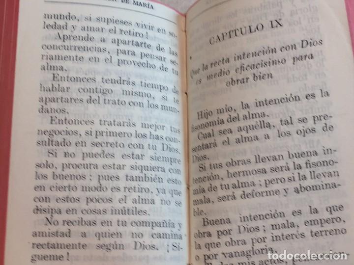 Libros antiguos: Imitación de Cristo Menosprecio del Mundo Tomás de Kempis más imitación de María 1942 - Foto 4 - 155995753